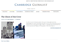 Tablet Preview of cambridgeglobalist.org